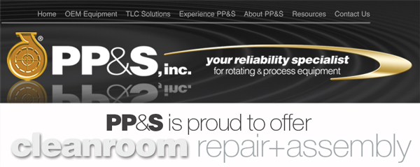 PP&S is your reliability specialist for rotating and process equipment