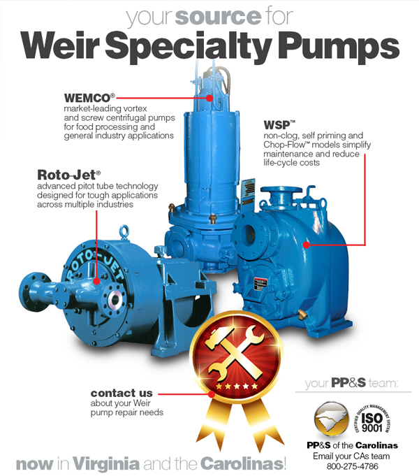 PP&S welcomes Weir Specialty Pumps to our lineup of superior brands!