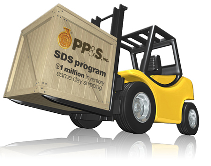 PP&S has over 1 million dollars of inventory